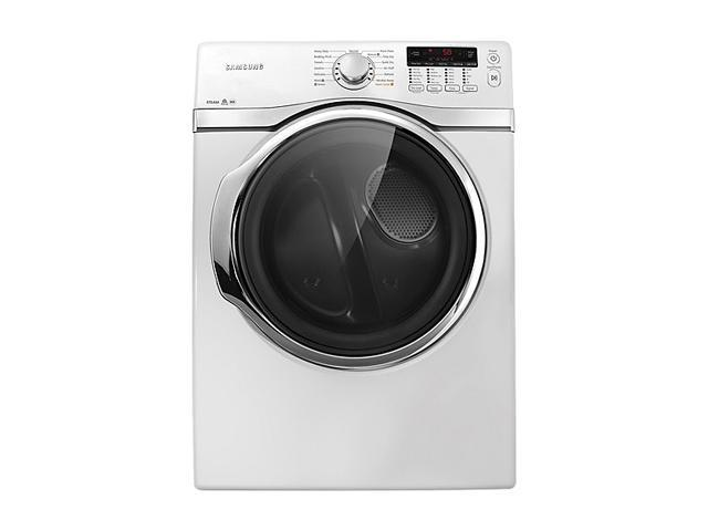 SAMSUNG DV405GTPAWR Neat White 7.4 cu. ft. Gas Steam Dryer