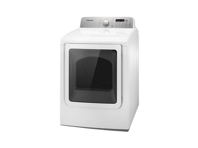 SAMSUNG DV456EWHDWR White Electric King-size Capacity Top Load Dryer