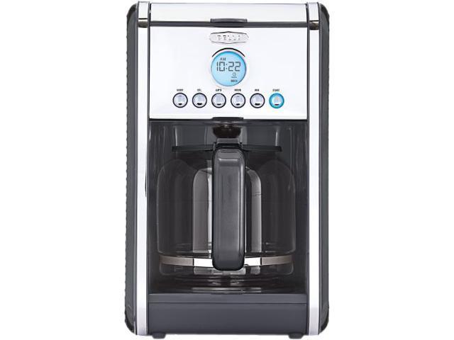 Bella 14161 Grey Linea 12 Cup Programmable Coffee Maker - Grey - Newegg.com