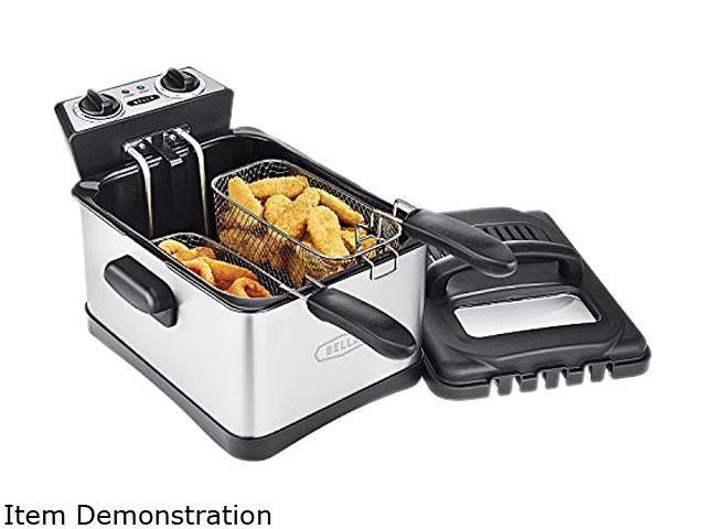 Bella 14406 4.5L Three Basket Deep Fryer