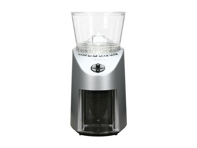 Jura-Capresso 8.8-oz. Burr Coffee Grinder, Brushed Stainless