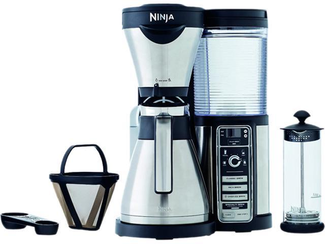 Coffee Maker Thermal Carafe Vs Glass : Ninja Coffee Bar Brewer with Glass Carafe, CF081 - Newegg.com