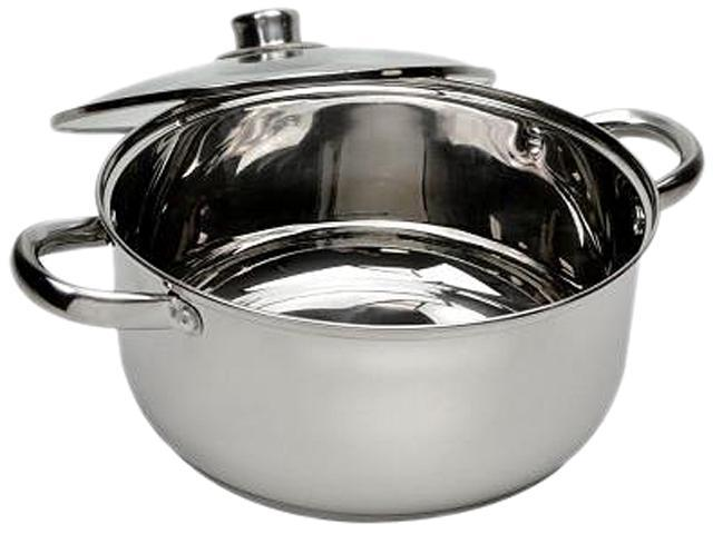 Ecolution ESTL-4505 Pure Intentions Stainless Steel 5 Qt. Dutch Oven w/Lid