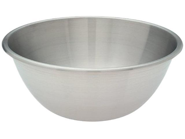 Amco 874 9 Quart Mixing Bowl Silver