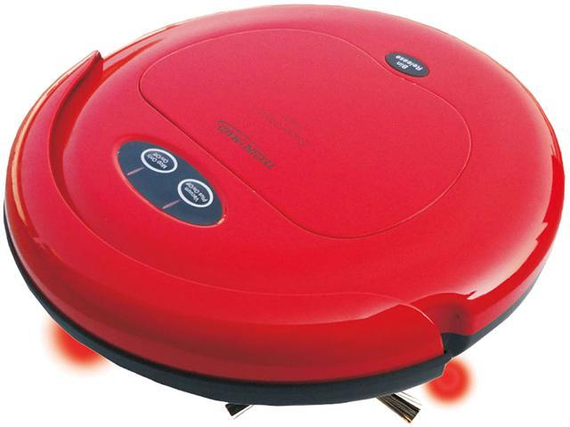 Techko Maid RV318-R Robotic High-Speed Sweeper and Mopping Machine, Red