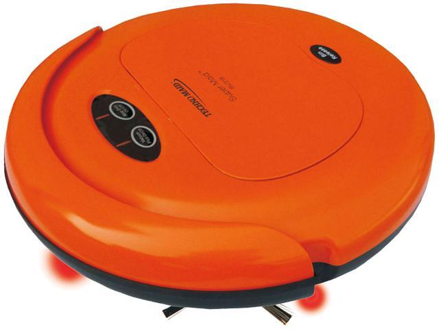Techko Maid RV318-O Robotic High-Speed Sweeper and Mopping Machine, Orange