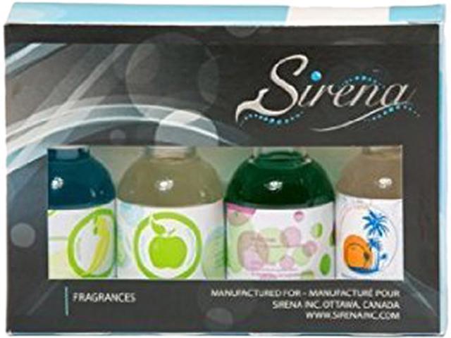 Sirena FRAG1 Natural Fragrances, 1.6 Oz, Pack Of 4