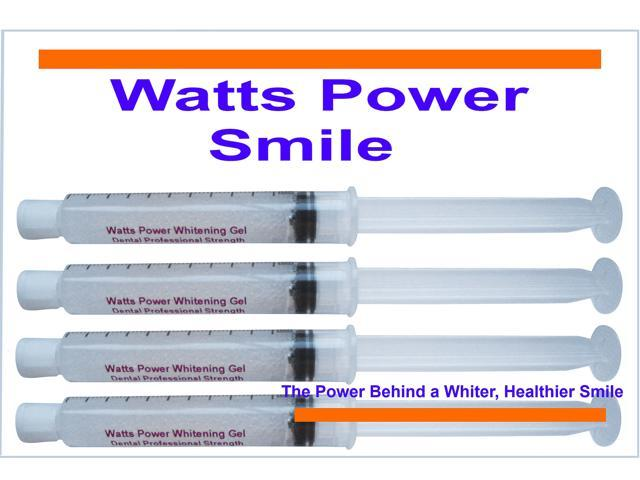Watts Power WP3640 Optimized Dual Action Surface & Deep Stain Professional Strength Teeth Whitening Gels - Kosher Certified USA