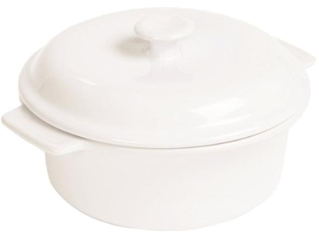 Anchor Hocking Ceramic 3.5qt Covered Casserole Dish