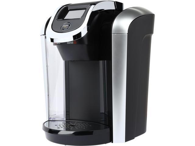 keurig k475 20 coffee maker with black