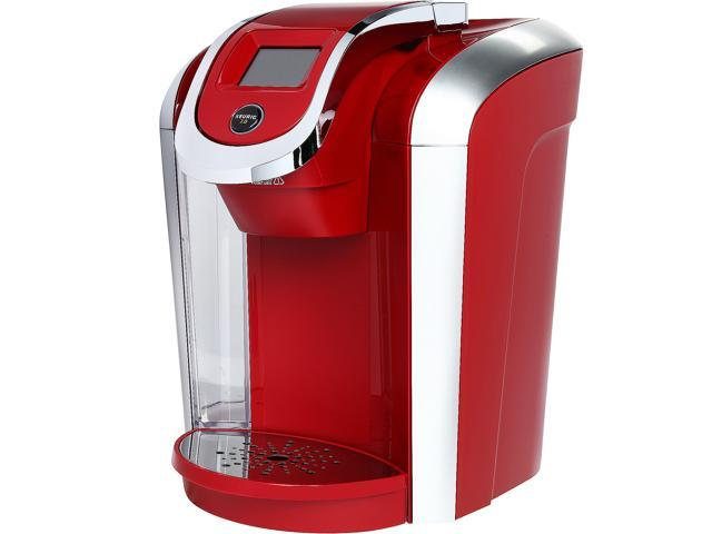 How To Use Red Keurig Coffee Maker : Keurig K475 2.0 Coffee maker with Programmability, Vintage Red-Newegg.com