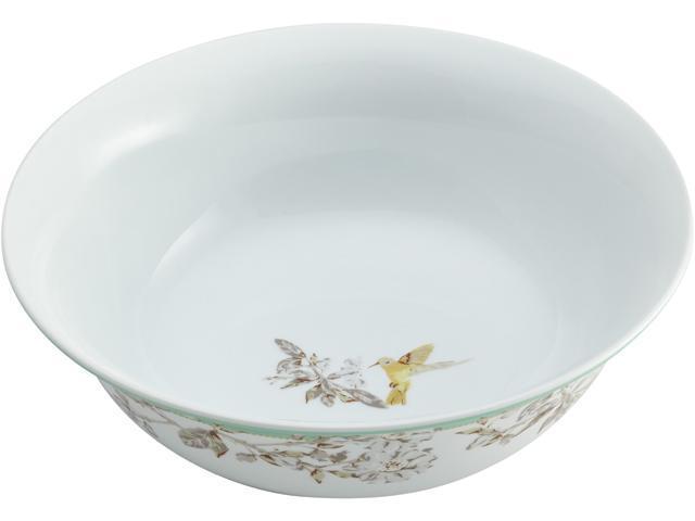 BONJOUR  55591  Dinnerware Fruitful Nectar Porcelain 10-Inch Round Serving Bowl