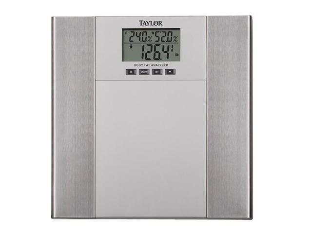 TAYLOR 55684102 Body Fat & Body Water Monitor With BMI