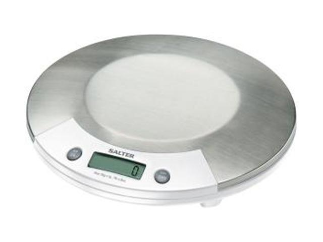 Taylor 1015WHSSDR Stainless Steel Electronic Kitchen Scale (white & Stainless Steel)