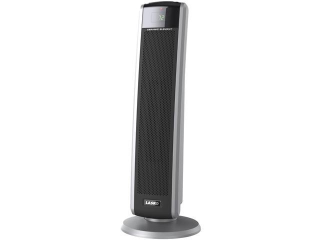 LASKO 5586 Digital Ceramic Tower Heater with Remote Control