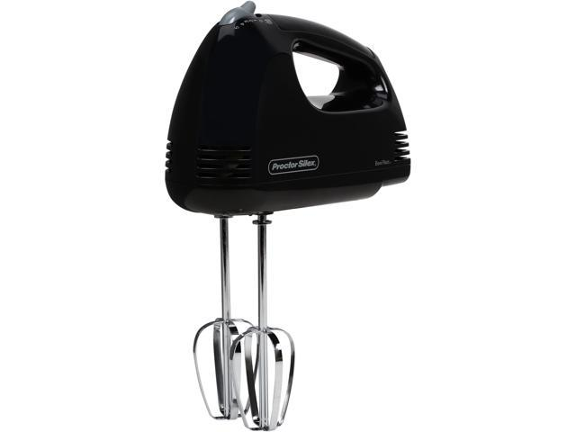 Proctor Silex 62507 Easy Mix Hand Mixer Black