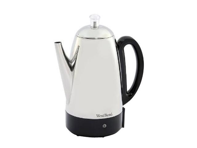 West Bend 54159 Stainless steel 12 Cup Stainless Steel Percolator