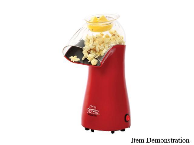 west bend red air crazy hot air popcorn popper - Popcorn Poppers