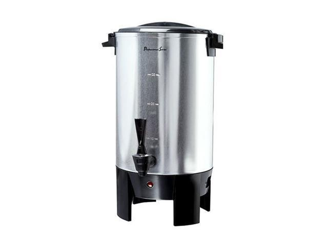 Continental Electric PS77931 Stainless steel Professional Series 30-Cup Coffee Urn