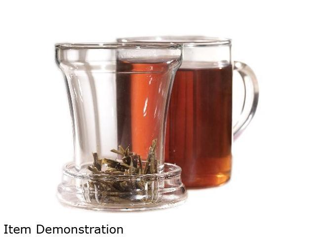 Primula PTA-3512 Handblown Glass Tea Maker with Loose Tea Infuser