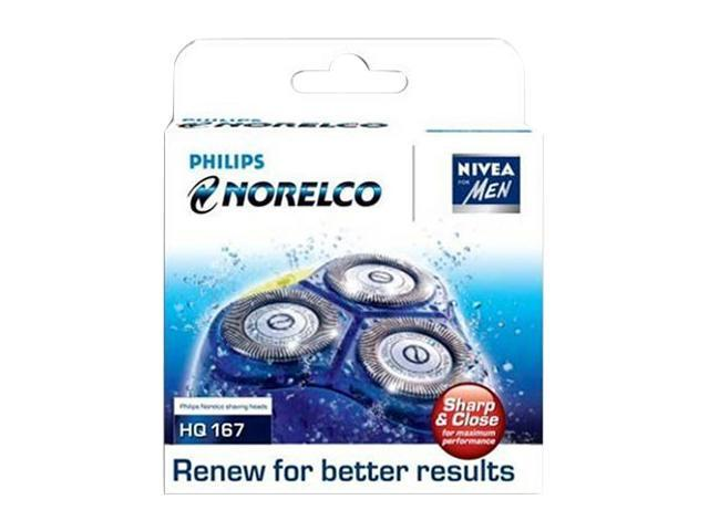 Norelco HQ167 Cool Skin/Advantage Replacement Heads