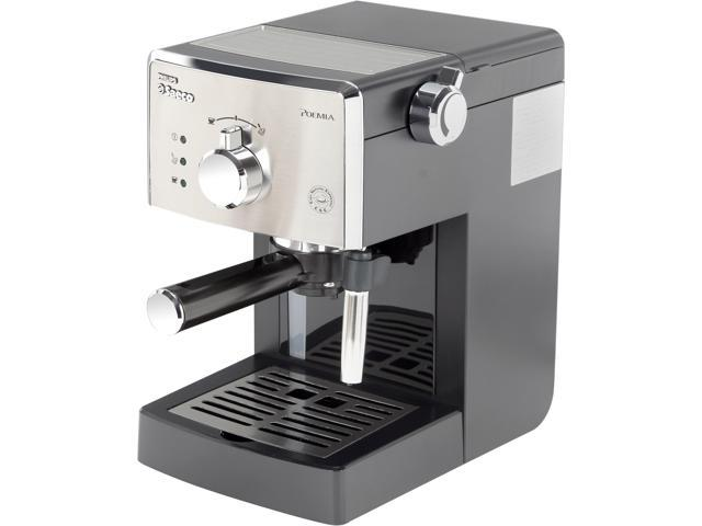Philips Saeco HD8325/47 Manual Espresso Poemia, Class Black and Chrome