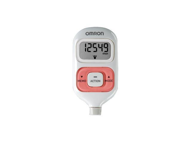 Omron HJ-203PK GOsmart Pocket Pedometer w/Activity Tracker