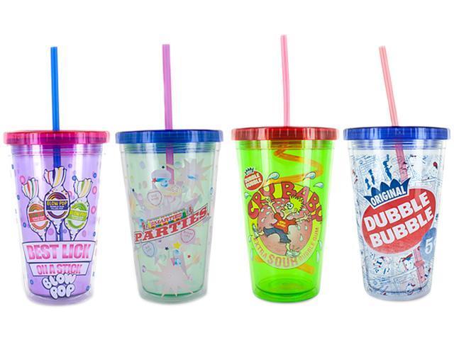 Smart Planet EC-10LICOCI2 Licensed Frap Cups 4 Pack (Blow Pop / Dubble Bubble / Cry Baby / Smarties)
