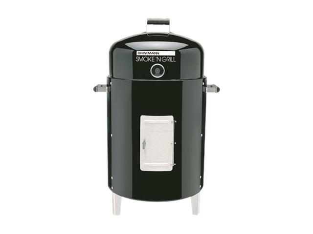 Brinkmann Smoke'N Grill Charcoal Smoker & Grill 810-5301-C Black