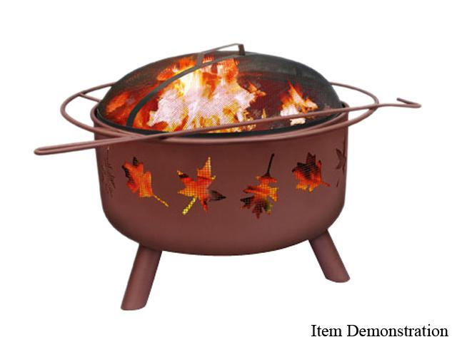 Landmann 28673 Tree Leaves Fire Pit - Georgia Clay