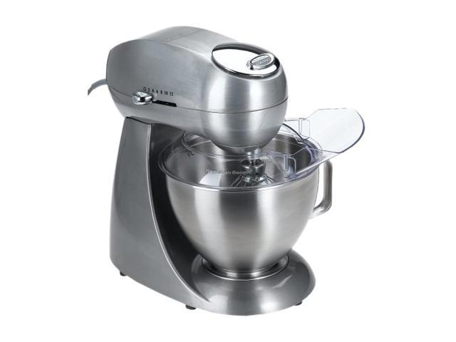 Hamilton Beach 63220 Eclectrics Sterling All-Metal Stand Mixer Silver