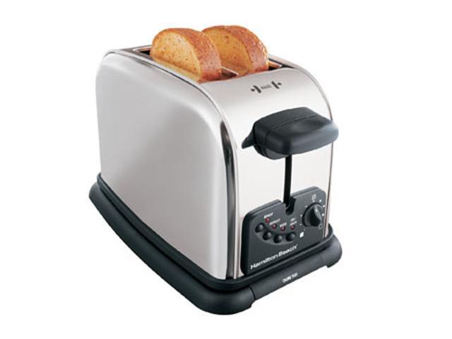 Hamilton Beach 22600 Chrome Classic 2 Slice Extra-Wide Slot Toaster