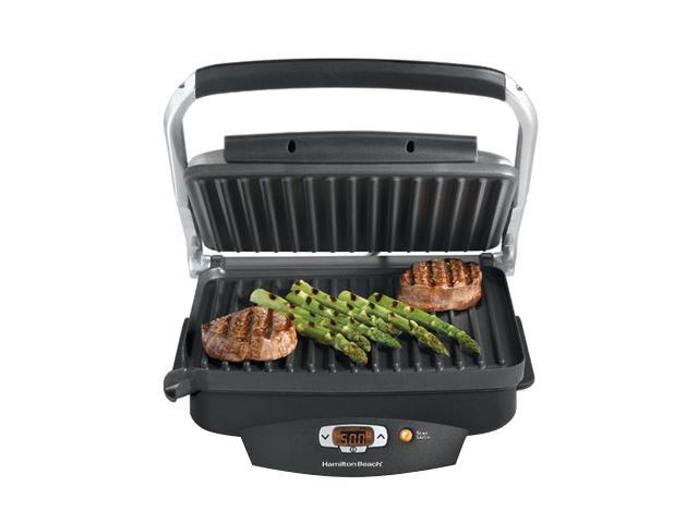 Hamilton Beach 25331 Black Super Sear Nonstick Searing Grill