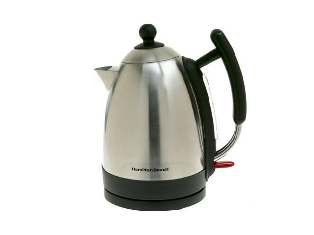 Hamilton Beach 40886 Stainless Steel/Black Stainless Steel Kettle