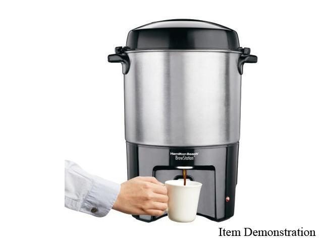 Hamilton Beach 40540 Silver Brew Station Coffee Urn