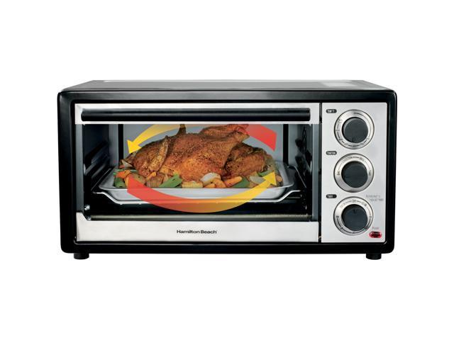 Hamilton Beach 31509 Black Convection 6 Slice/Broiler Toaster Oven
