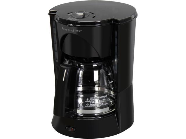 Proctor Silex  12 Cups Automatic Coffee Maker, 48524RY, Black