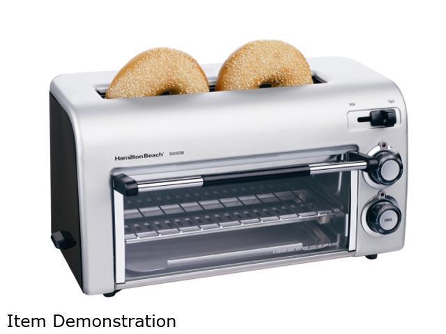 Hamilton Beach 22709 Silver Toastation II Toaster & Oven