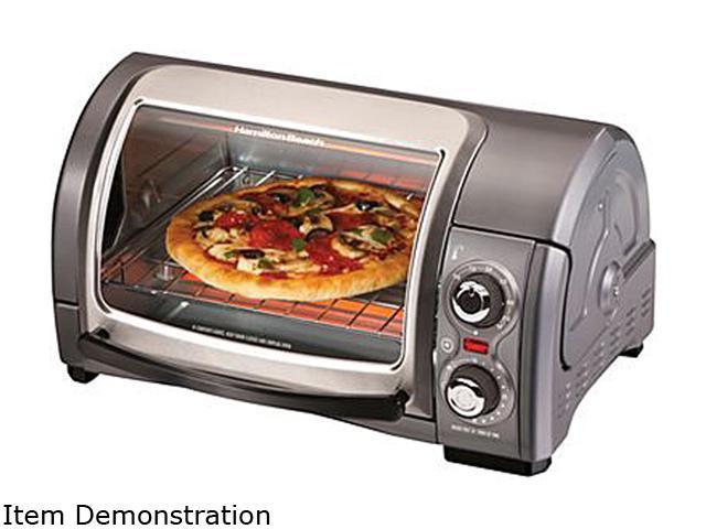 Hamilton Beach 31334 Easy Reach 4-Slice Toaster Oven