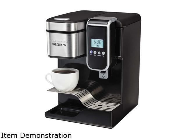 Water Cooler Coffee Maker Combo : Hamilton Beach 49988 FlexBrew Programmable Single-Serve Coffee Maker with Hot Water Dispenser ...