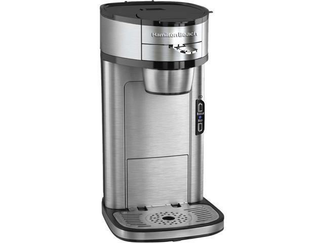 Hamilton Beach 49981 Stainless steel The Scoop Single-Serve Coffeemaker
