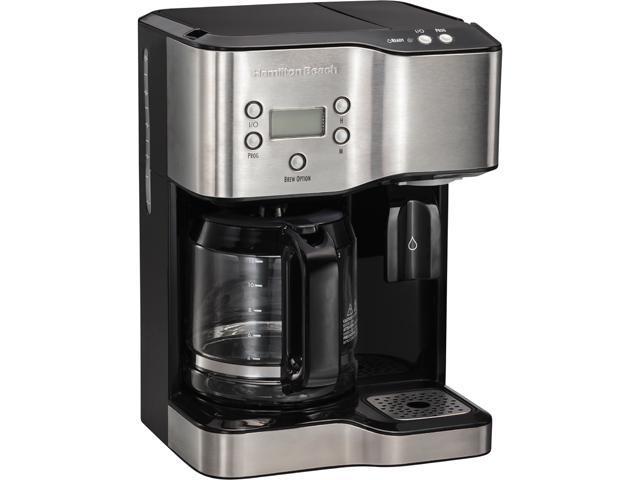 Water Cooler Coffee Maker Combo : Hamilton Beach 49982 Coffee Maker & Hot Water Dispenser - Newegg.com