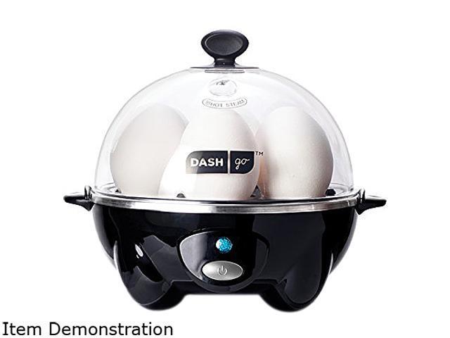 Storebound DEC005BK Black Rapid 6 Egg Cooker, Perfect for Hard, Medium, Soft or Poached Eggs