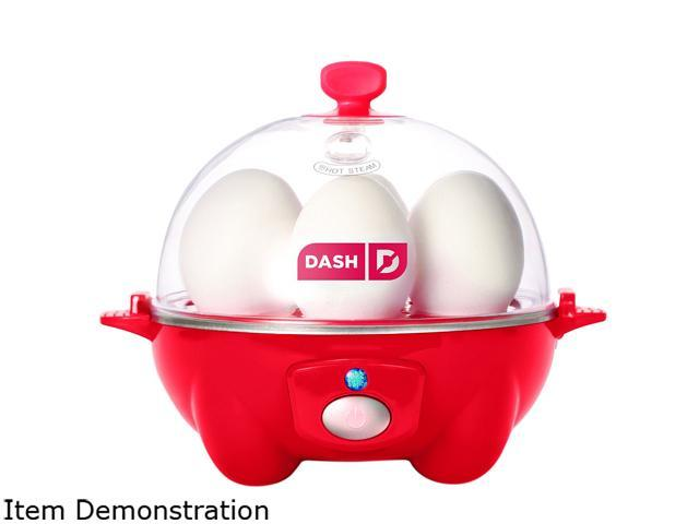 Storebound DEC005RD Red Rapid 6 Egg Cooker, Perfect for Hard, Medium, Soft or Poached Eggs