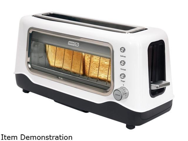 Storebound Dvts501wh White Dash Clear View Toaster Window