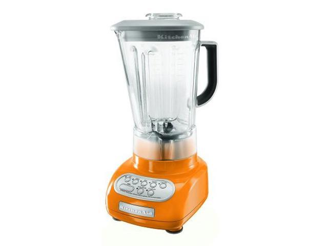 KitchenAid KSB560TG Tangerine 56 oz. Polycarbonate Pitcher Blender
