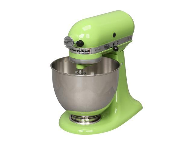 KitchenAid KSM150PSGA Artisan Series 5-Quart Tilt-Head Stand Mixer Green Apple