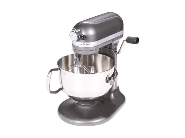 KitchenAid KP26M1XPM Professional 600 Series 6-Quart Stand Mixer Pearl Metallic