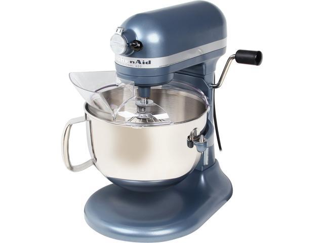 KitchenAid KP26M1XBS Professional 600 6 Quart Stand Mixer Blue