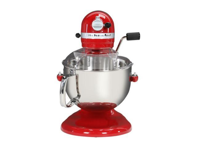 KitchenAid KP26M1XER Professional 600 6 Quart Stand Mixer Red